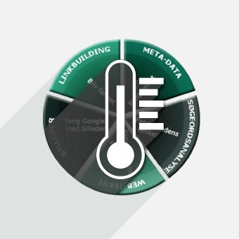 få taget en temperaturmåling af dit hjemmeside eller webshop