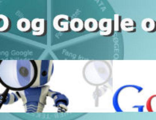 Hvad er SEO og Google optimering