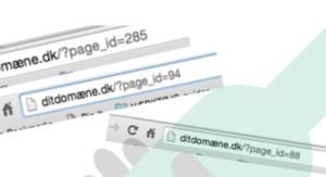 hent e-guiden gratis til dig, Quick guide til læsbare URL