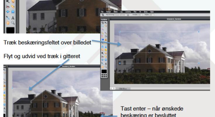 gratis e-guide til billedbeskæring og komprimering af billeder til web udgivelse