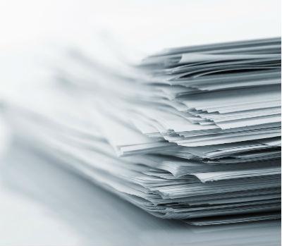 bunke papir med ens indhold betyder at Google blot vælger et tilfældigt eksemplar fra bunket